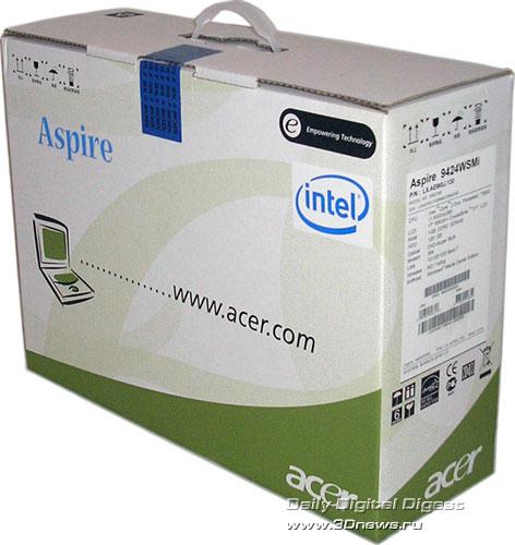 Acer Aspire 9424WSMi  - основная коробка