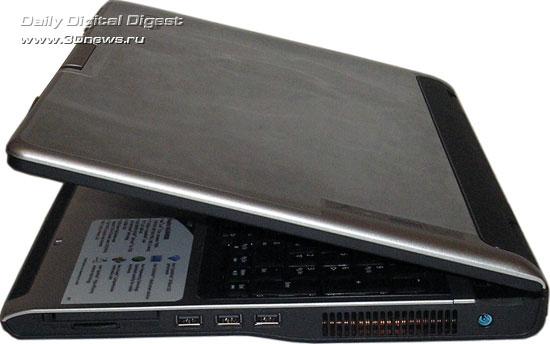 Acer Aspire 9424WSMi  - вид с правой стороны