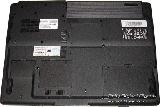 Acer Aspire 9424WSMi  - вид снизу