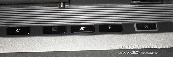 Acer Aspire 9424WSMi  - системные клавиши