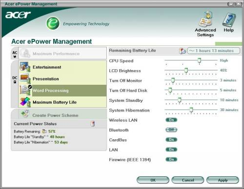 Утилита ePower